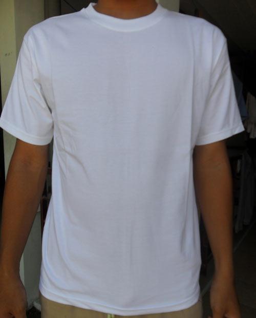 Kaos Polos Putih Ukuran Distro Anak