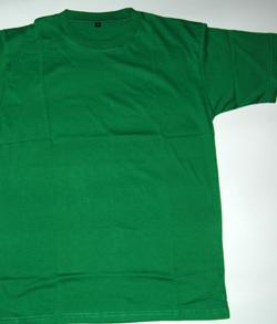 kaos polos warna hijau fuji